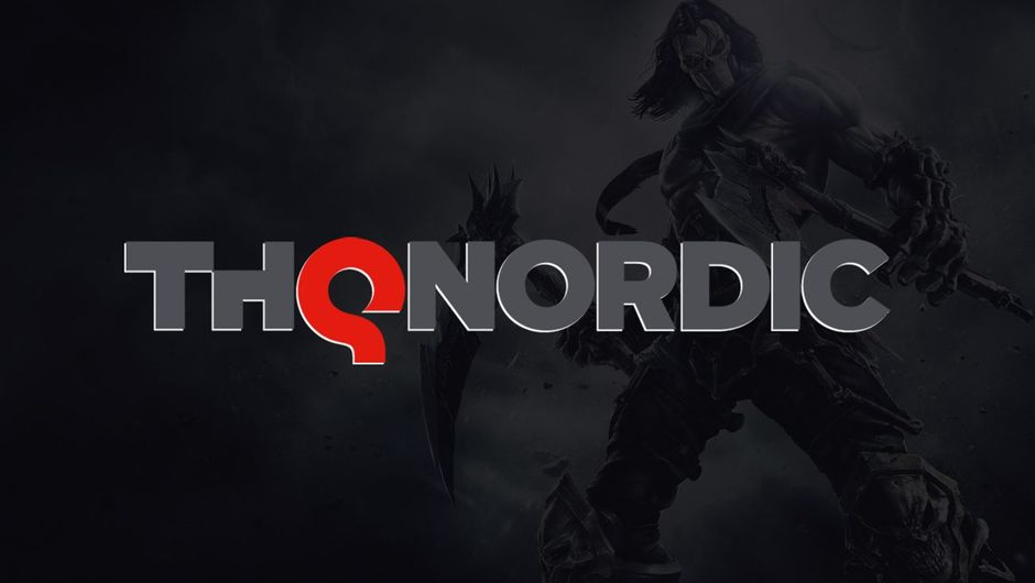 artwork showing thq nordic logo on a dark backgorund