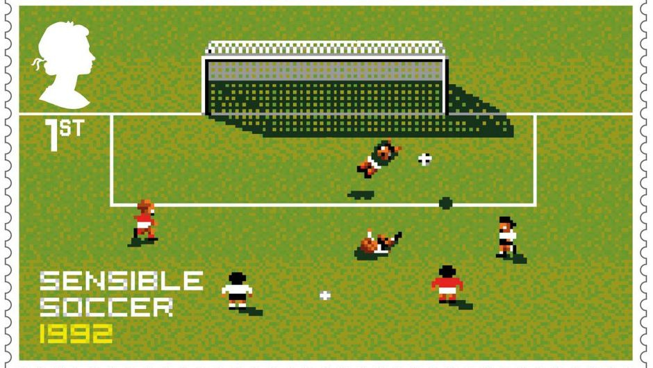 Sensible Soccer's Royal Mail stamp
