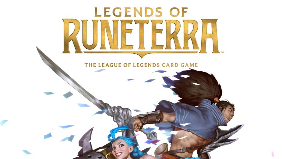 Key art for Legends of Runeterra.