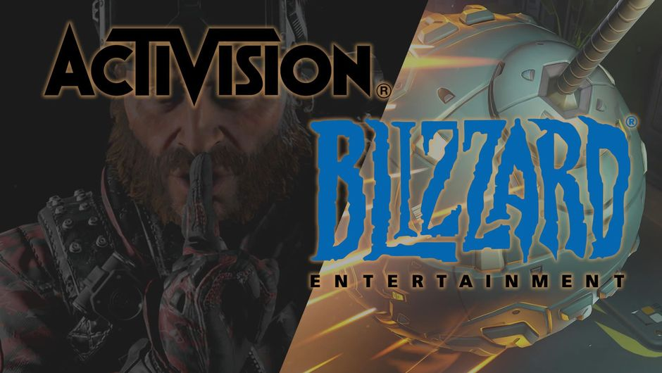 Activision and Blizzard logos