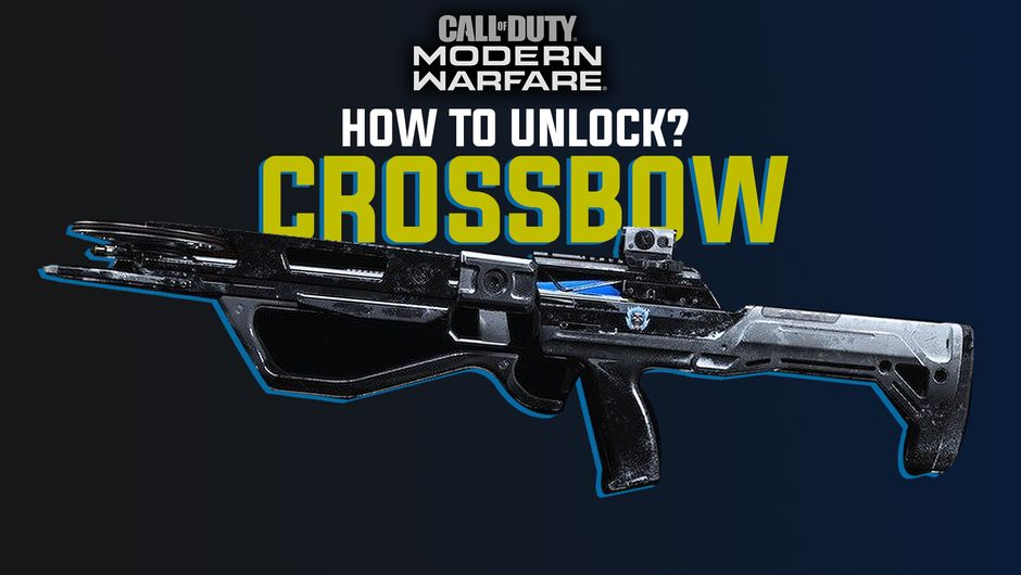 artwork showing crossbow from call of duty modern warfare