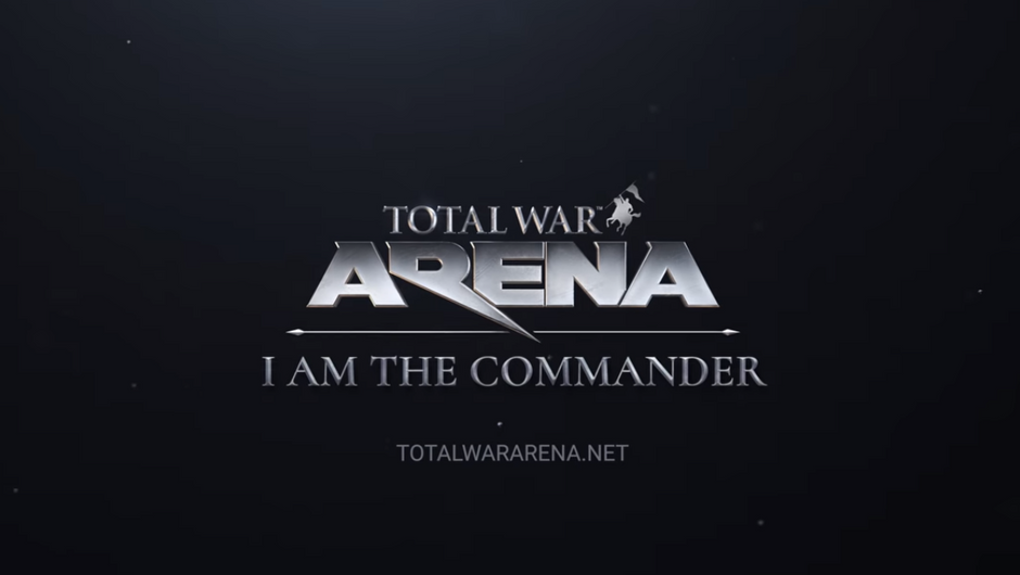 Total War: Arena logo and tagline