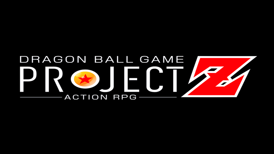 Dragon Ball Project Z logo on a black background.