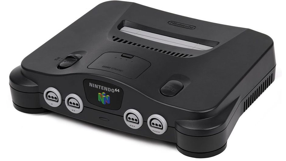 Picture of Nintendo's legendary console Nintendo 64