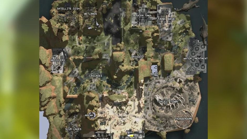 Apex Legends map leak that nobody believed was credible