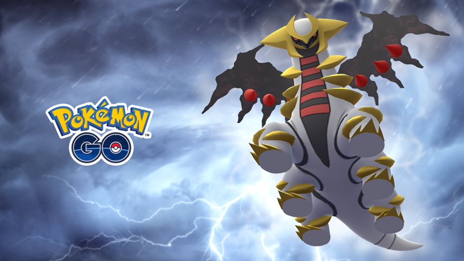 Pokemon Go - Altered Geratina promo image