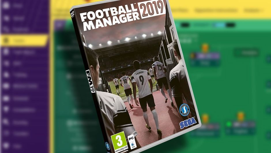 A physical copy of Football Manager 2019