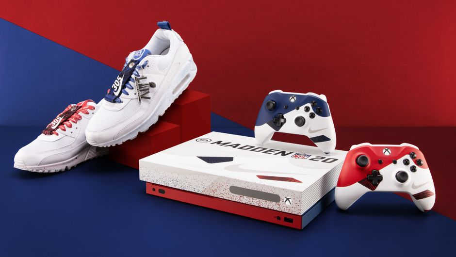 Nike x Madden NFL 20 Xbox One X console