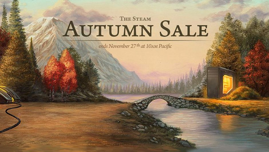 picture showing Steam Autumn Sale logo