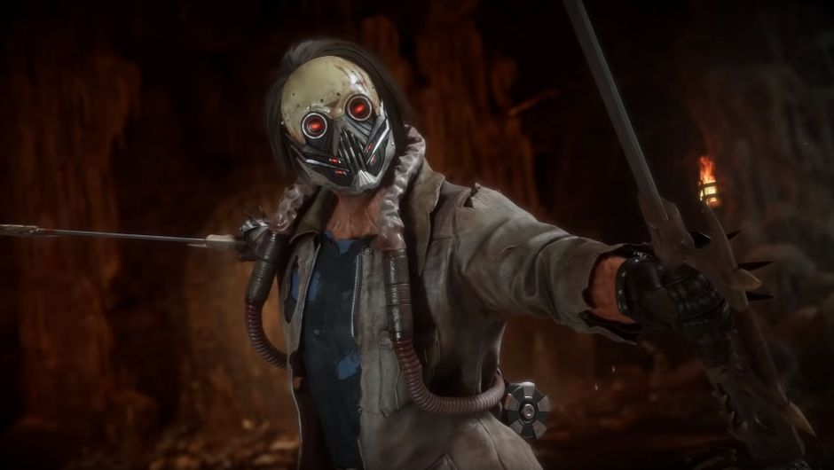 mortal kombat 11 screenshot showing Psyko Killer Kabal skin