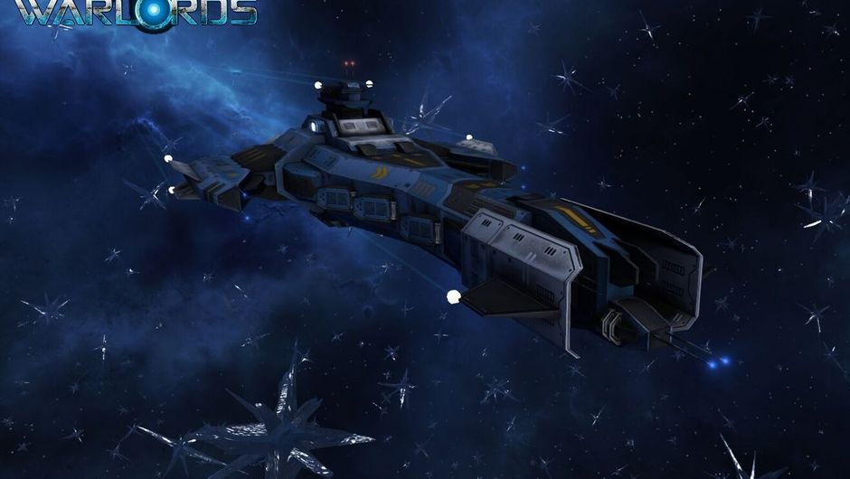Screenshot of the new ship Glycon in Starpoint Gemini Warlords