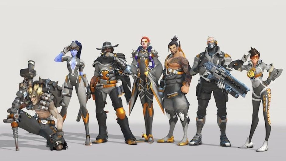 Overwatch League team of heroes