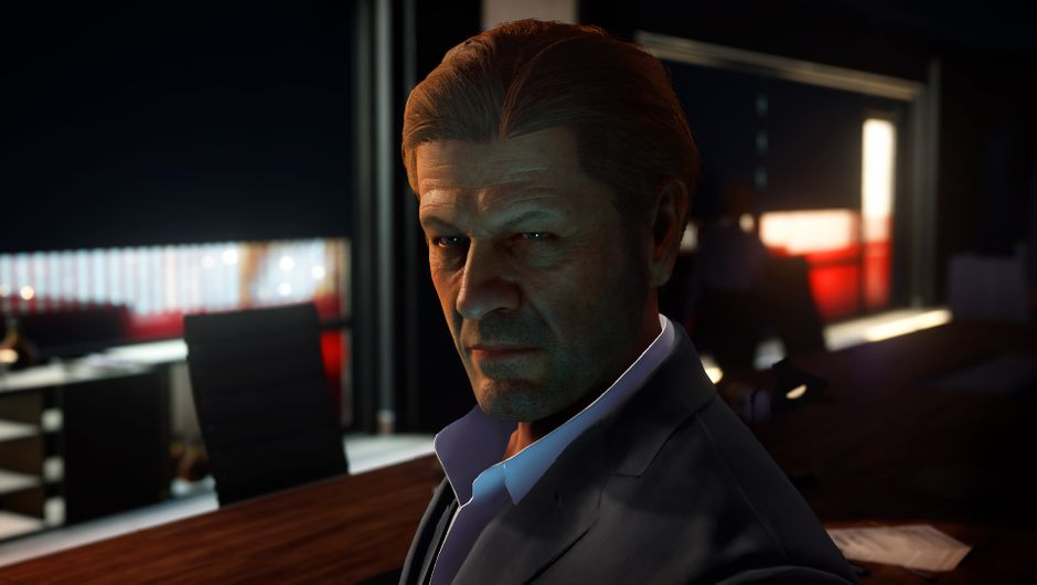 hitman 2 screenshot showing sean bean