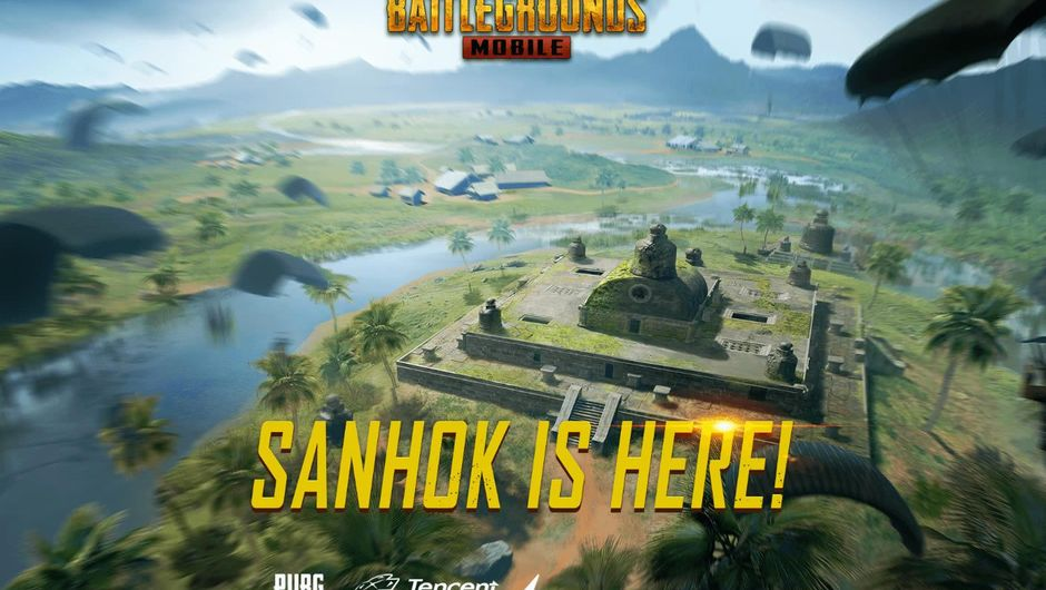PUBG Mobile's recently added map Sanhok
