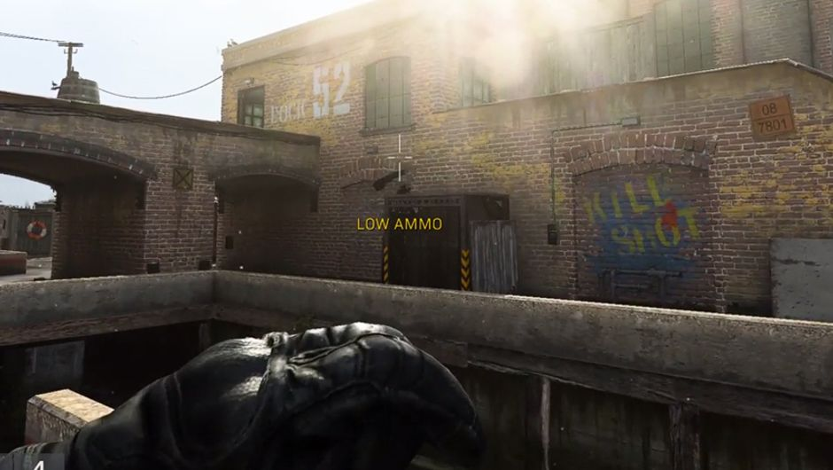 cod mw screenshot showing clipping issue