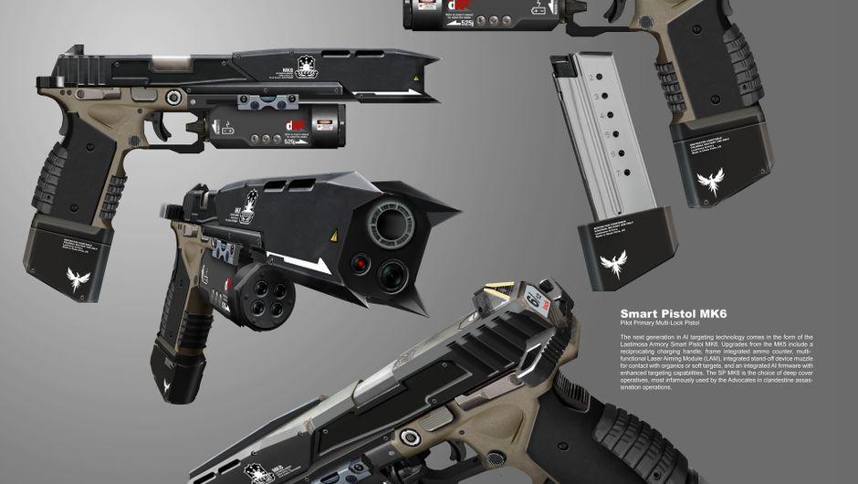 Titanfall - Smart Pistol