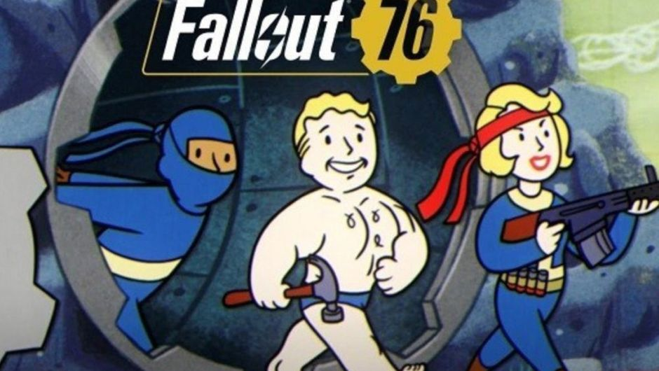 picture showing three vault boys