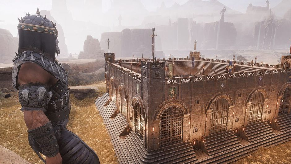 conan exiles screenshot showing pvp arena