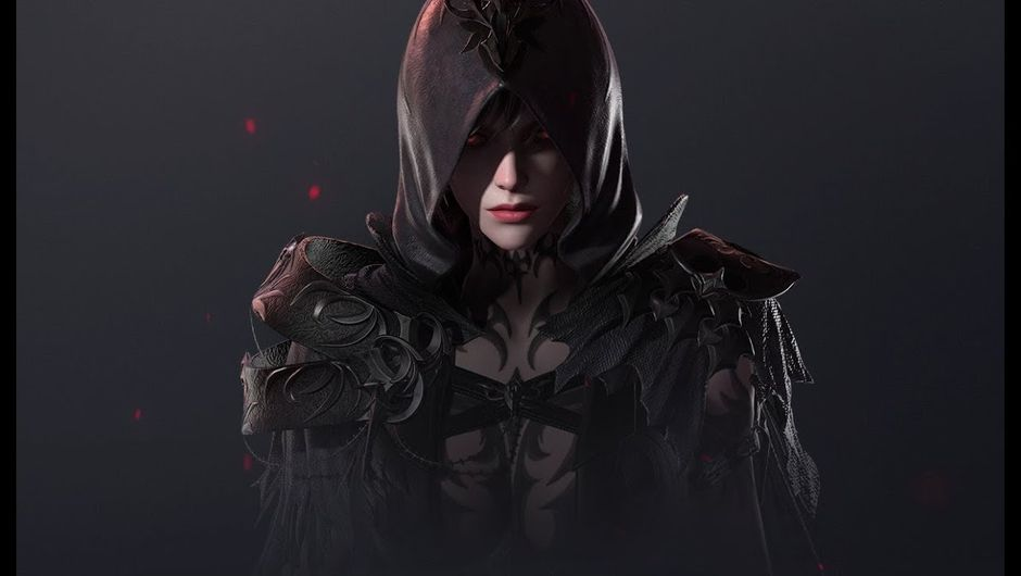 Picture of a hooded woman in Lost Ark
