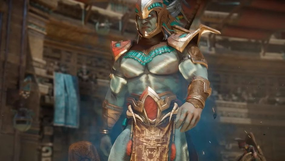 Picture of Kotal Kahn from NetherRealm Studios' Mortal Kombat 11