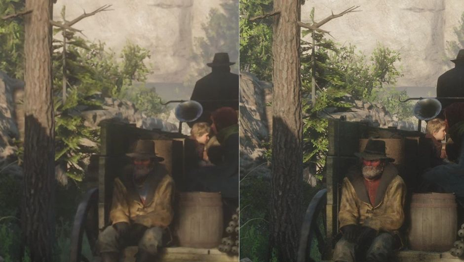 Red Dead Redemption 2 on Stadia is a blurry mess