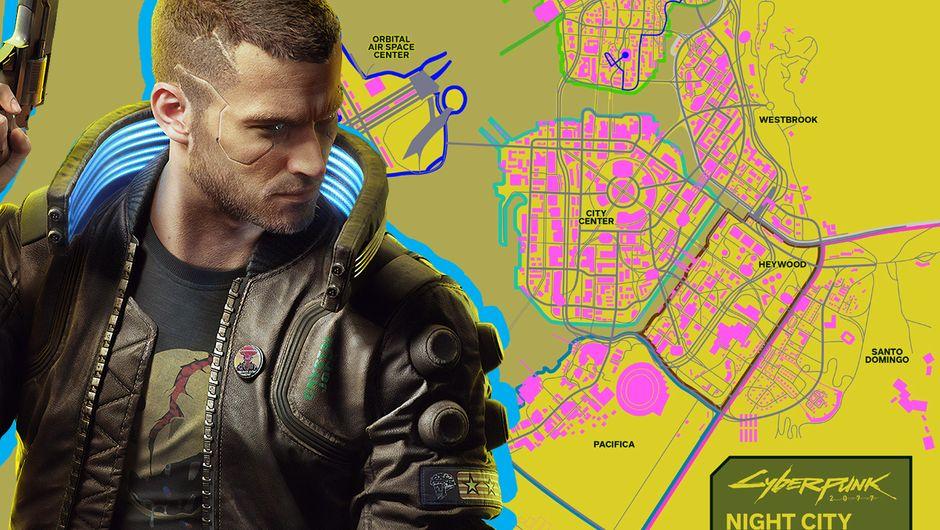 Cyberpunk 2077 full map looks impressive in fan-made mockup