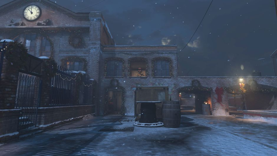 Call of Duty: Modern Warfare, Docks map in Christmas reskin