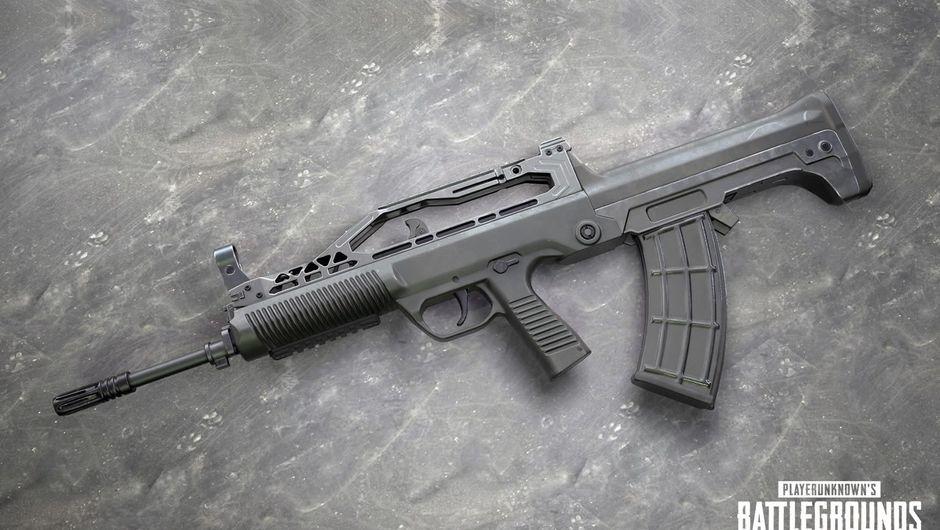 Newly announced PUBG gun called the QBZ95