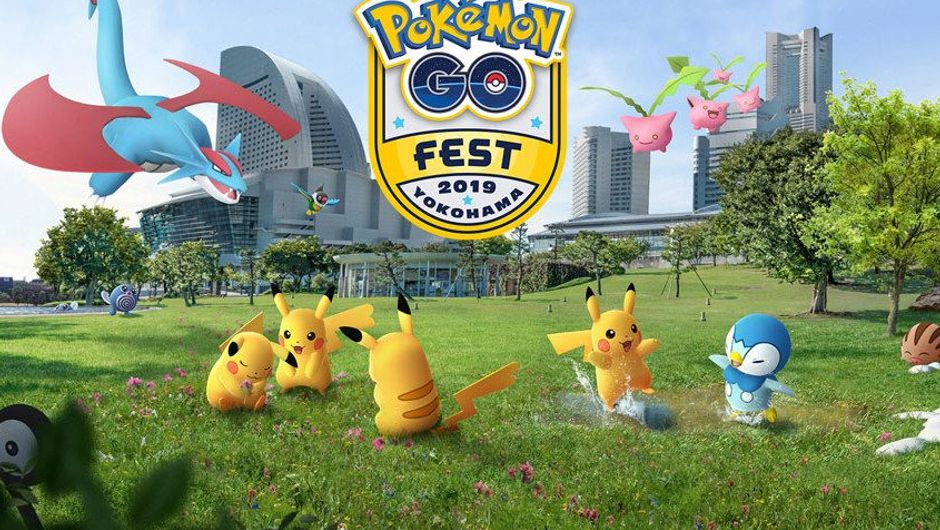 Promotional image for Pokemon Go Yokohama Fest