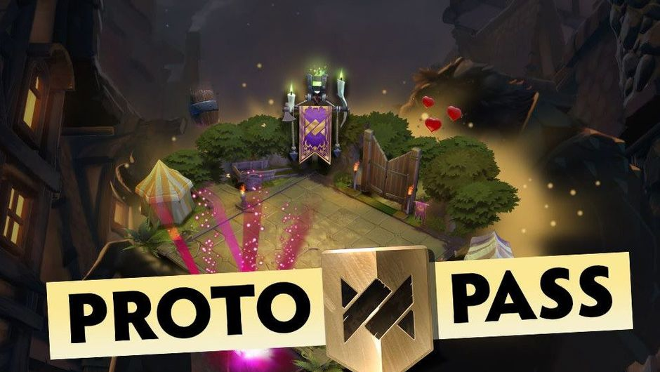 Promotional image for the Proto Pass in Dota Underlords