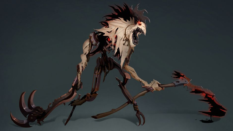 League of Legends - Fiddlesticks concept art