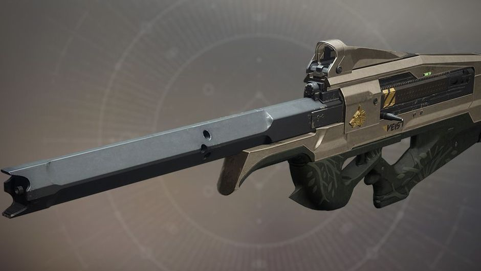 A Scout Rifle for Iron Banner event in Destiny 2