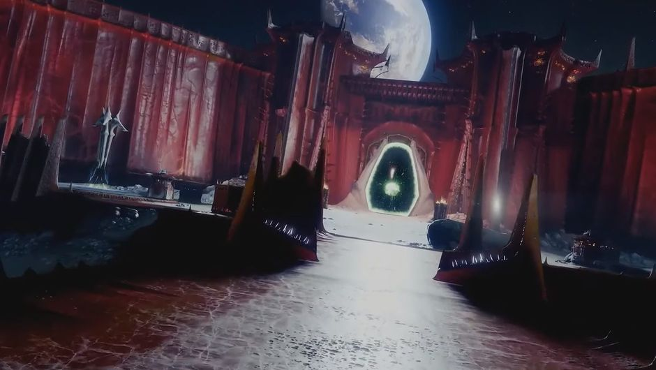 destiny 2 screenshot showing a new moon location