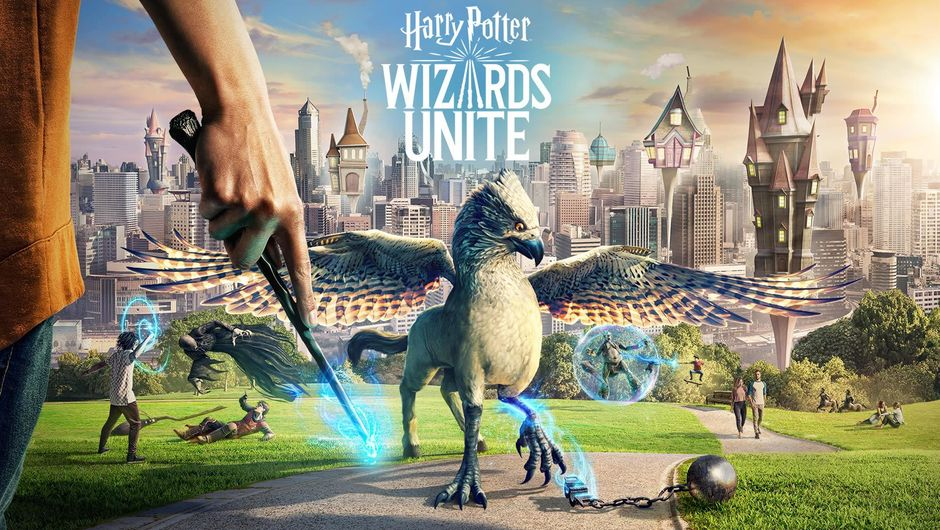 Harry Potter: Wizards Unite key art