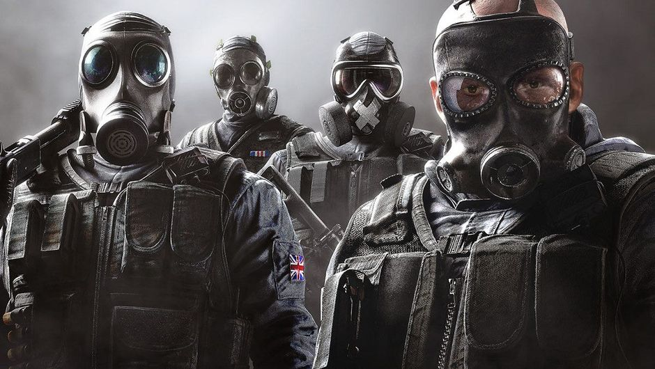 Picture of the SAS boys from Rainbow Six Siege