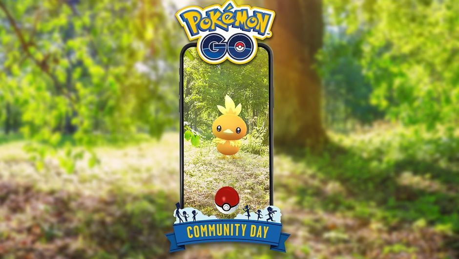 Picture of Torchic in Pokemon GO May 2019 Community Day