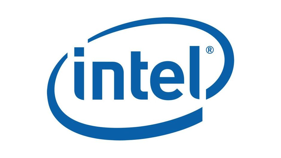Logo for chip maker Intel