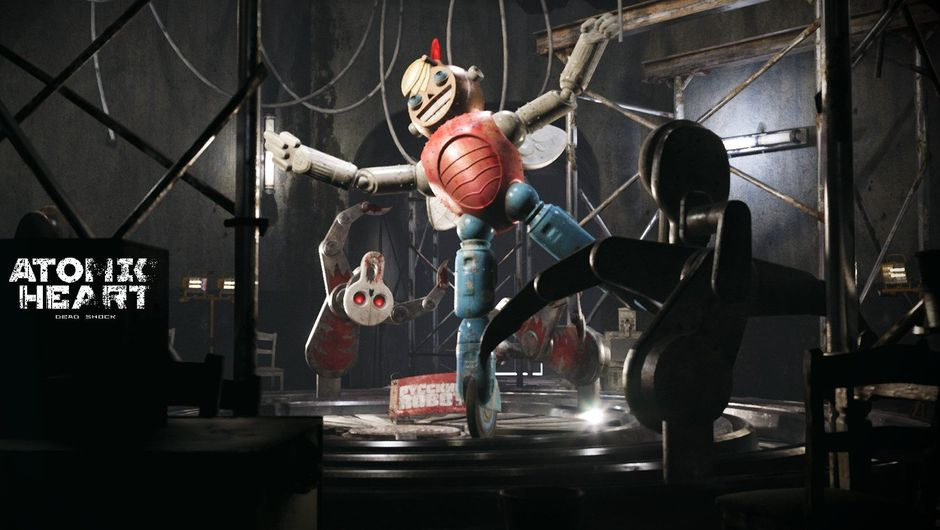 Machines are dancing in a creepy way in Atomic Heart