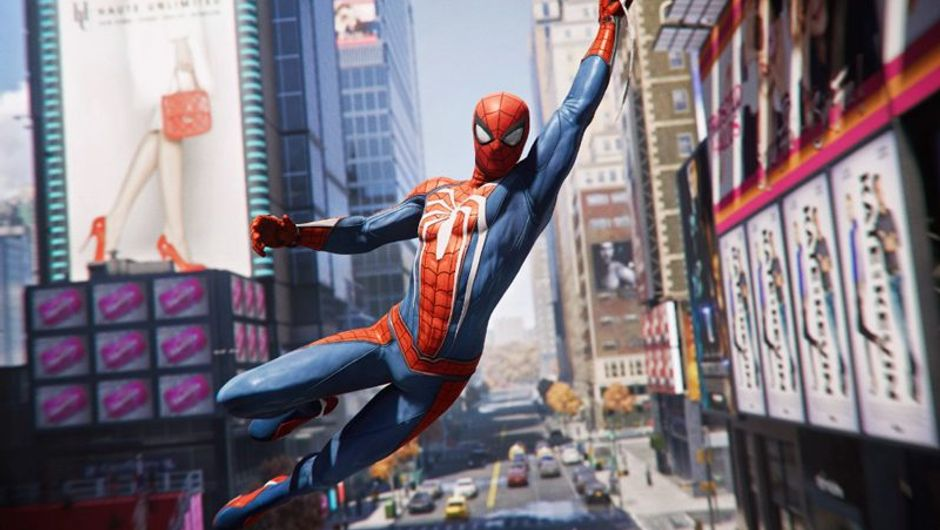 picture showing spideman in new york