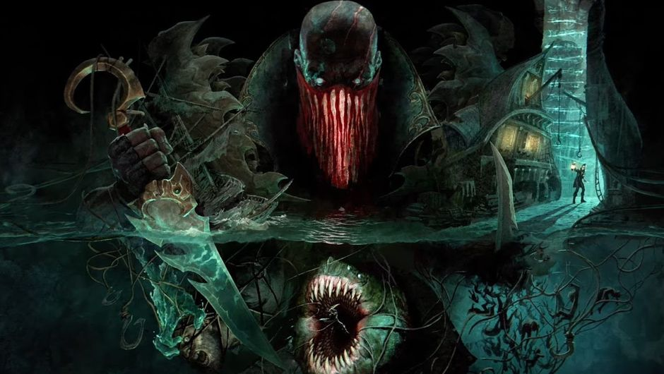Promotional art for Pyke, the Ripper of Bloodharbor in League of Legends