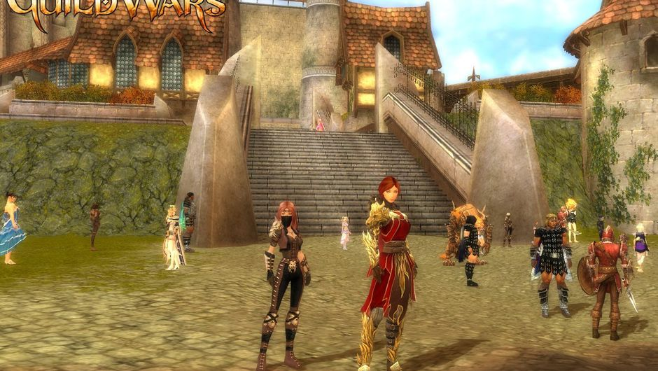 Screenshot from Guild Wars showing the legendary I Pull Levers Well bot