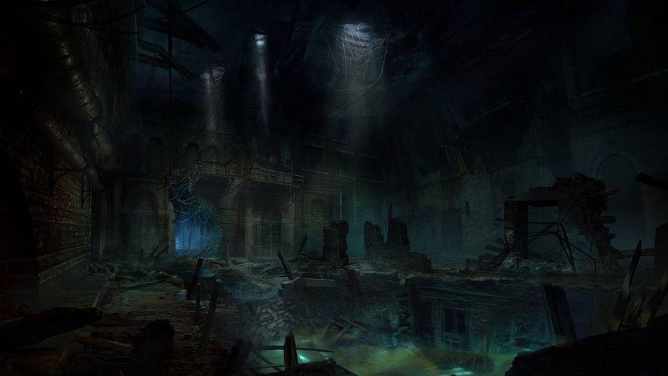 Picture of a dark underground place in Vampire