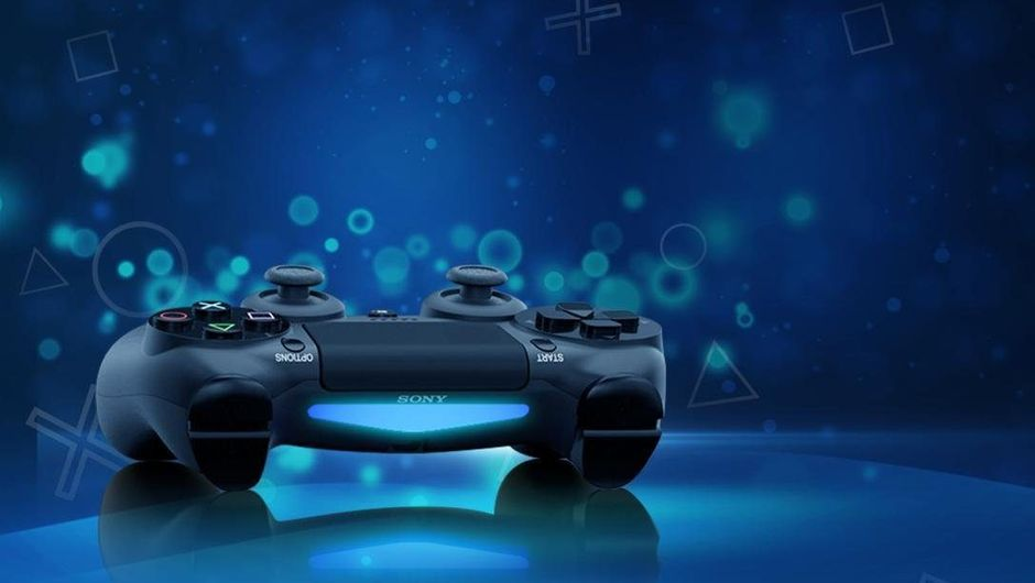 artwork showing dualshock 2 controller for ps4