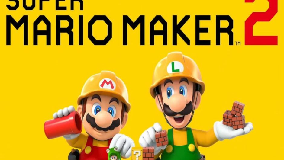 Promotional image for Super Mario Maker 2