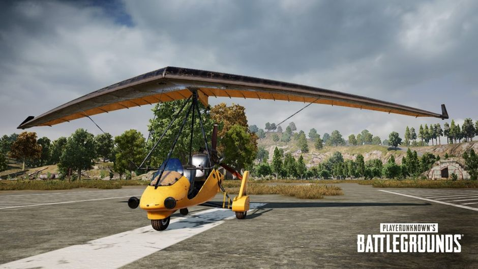 PUBG Labs, the Motor Glider aircraft