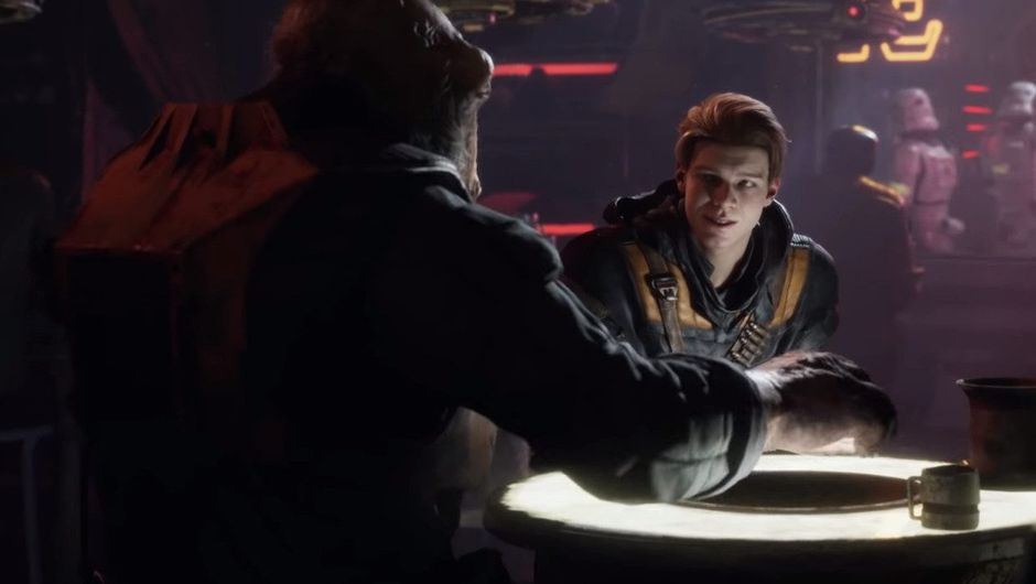 Picture of some guys in a bar from Star Wars: Jedi Fallen Order