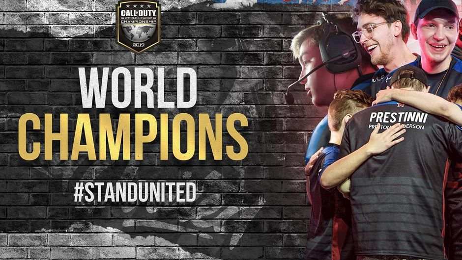 Call of Duty: Black Ops 4 World Champions  eUnited