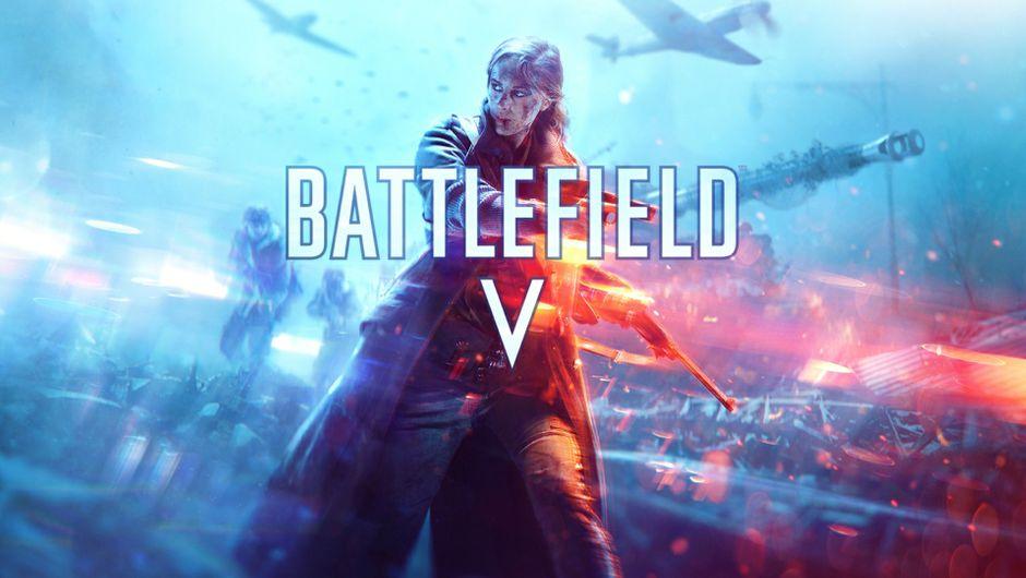 Key art for Battlefield V.