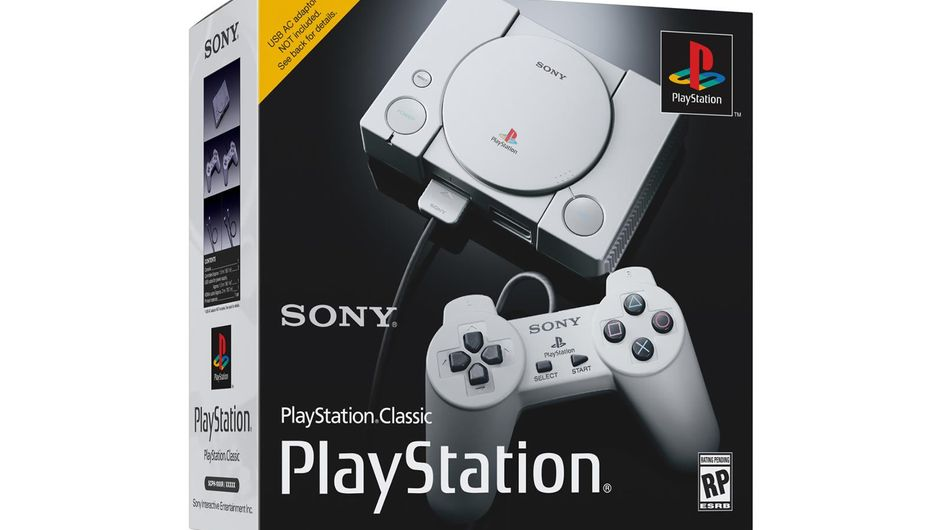 Sony's packaging for PlayStation Classic