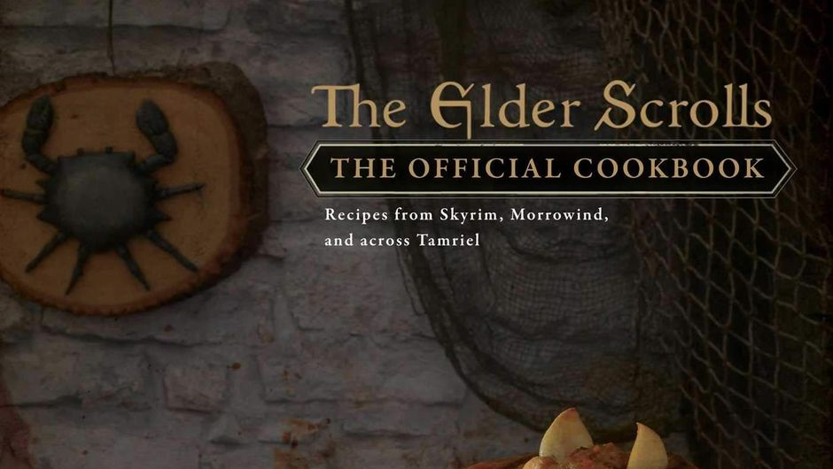 Front cover of The Elder Scrolls cookbook